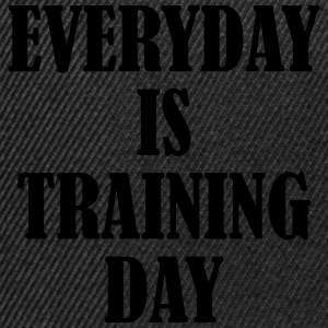 Everyday is Training Day Bluzy - Czapka typu snapback