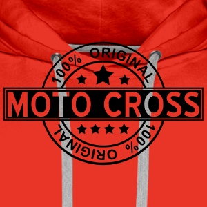 moto cross T-Shirts - Men's Premium Hoodie