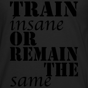 Train Insane T-shirts - Långärmad premium-T-shirt herr