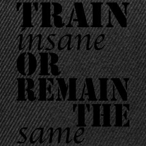 Train Insane T-Shirts - Snapback Cap