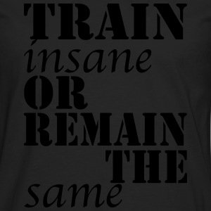 Train Insane Pullover & Hoodies - Männer Premium Langarmshirt