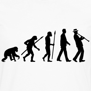 evolution_clarinet_player_092013_a_1c T-Shirts - Männer Premium Langarmshirt