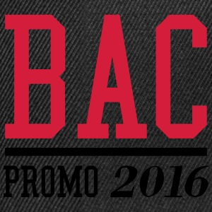 BAC Promo 2016 Tee shirts - Casquette snapback