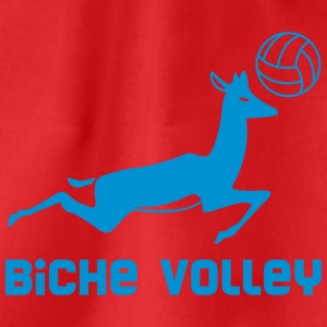 Biche Volley - Fair Wear tee shirt col V - Sac de sport léger