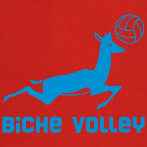 Biche Volley - Fair Wear tee shirt col V - Tablier de cuisine