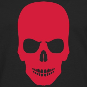 tete mort skull simple 606 Sweat-shirts - T-shirt manches longues Premium Homme