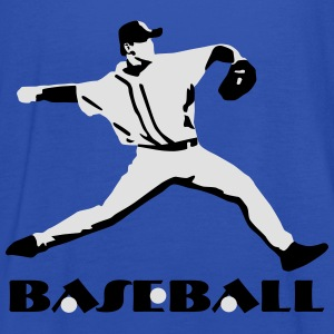 Baseball, Baseball Player T-Shirts - Dame tanktop fra Bella