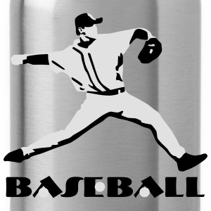 Baseball, Baseball Player T-Shirts - Cantimplora