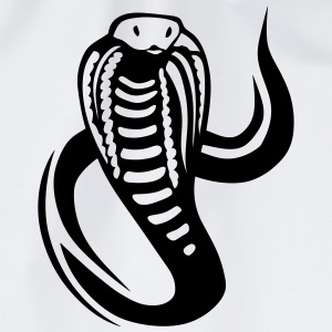 cobra serpent tribal 8 Tee shirts - Sac de sport léger