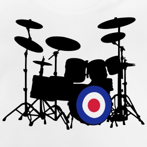 Mod Drumset T-Shirts - Baby T-Shirt