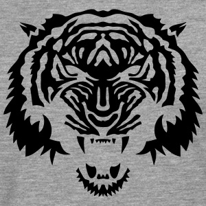 tigre animal tribal sauvage tiger 3 Tee shirts - T-shirt manches longues Premium Homme