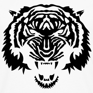 tigre animal tribal sauvage tiger 3 Sweat-shirts - T-shirt manches longues Premium Homme