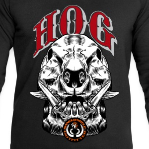 wild_hog_skull T-Shirts - Men's Sweatshirt by Stanley & Stella