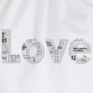 Love T-shirts - Sportstaske