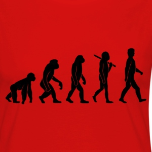 Evolution - Women's Premium Longsleeve Shirt