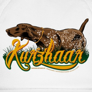 brown_kurzhaar T-Shirts - Baseball Cap