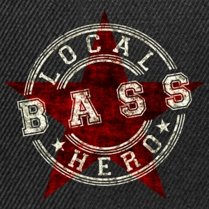 Local Hero Bass T-Shirts - Snapback Cap