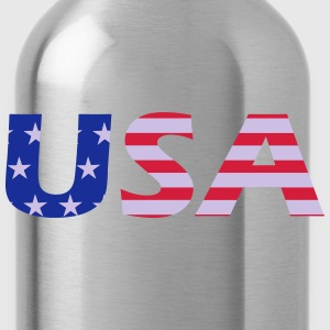 usa T-Shirts - Water Bottle