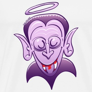 Dracula is Innocent Buttons - Men's Premium T-Shirt