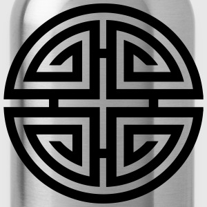 Four blessings, Chinese Good Luck Symbol, Charme T-Shirts - Water Bottle