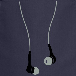 earphones  T-Shirts - Cooking Apron