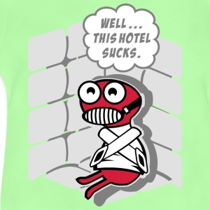 This hotel sucks!!! Sacs et sacs à dos - T-shirt Bébé