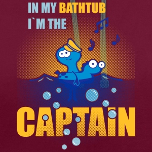 Shut up, I´m the captain Torby i plecaki - Bluza z kapturem z kontrastowymi elementami