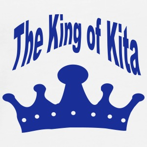 The King of Kita Teddy - Männer Premium T-Shirt