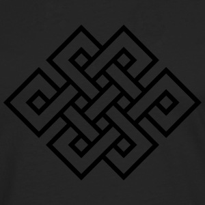 Tibetan endless knot, eternal, infinity, celtic T-Shirts - Men's Premium Longsleeve Shirt