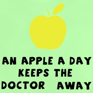 Weisheit - An Apple a Day keeps the Doctor Away Pullover & Hoodies - Baby T-Shirt