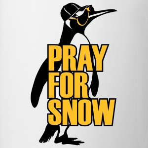 pinguin_pray_for_snow T-shirts - Mugg