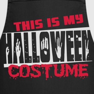 This is my halloween costume T-shirts - Keukenschort