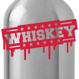Whiskey Stamp T-Shirts - Trinkflasche