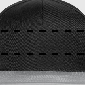 Dashed Lines Magliette - Snapback Cap