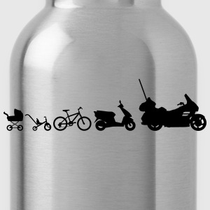 Evolution Goldwing motorcycle  T-Shirts - Water Bottle