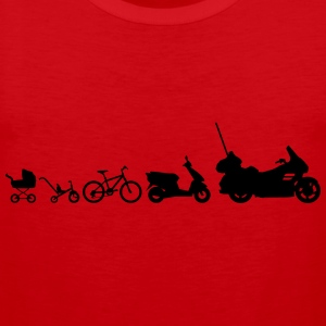 Evolution Goldwing motorcykel  T-shirts - Premiumtanktopp herr
