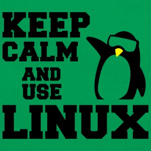 keep calm use linux T-Shirts - Retro Bag