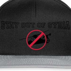 stay out of syria T-Shirts - Snapback Cap