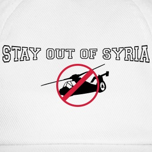 stay out of syria T-Shirts - Baseball Cap