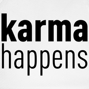 Karma Happens T-Shirts - Baseball Cap