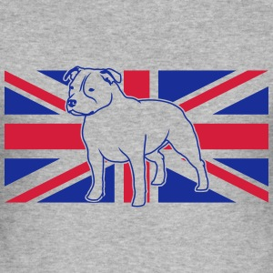 Staffbull UK Staffordshire Bwithoutwhite_2c_4light Pullover & Hoodies - Männer Slim Fit T-Shirt