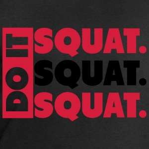 Do It. Squat.Squat.Squat  T-Shirts - Männer Sweatshirt von Stanley & Stella