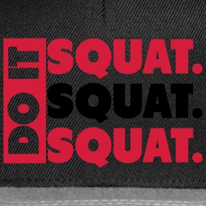 Do It. Squat.Squat.Squat  T-shirts - Snapbackkeps