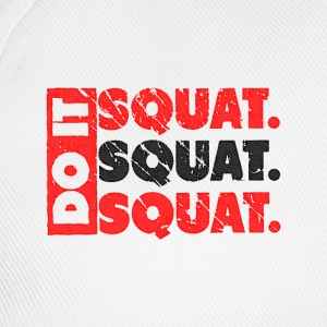 Do It. Squat.Squat.Squat | Vintage Style Camisetas de manga larga - Gorra béisbol
