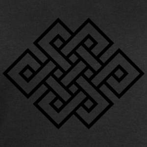 Tibetan endless knot, eternal, infinity, celtic T-Shirts - Men's Sweatshirt by Stanley & Stella