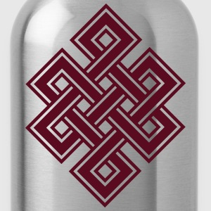 Tibetan endless knot, eternal, buddhism, celtic Koszulki - Bidon