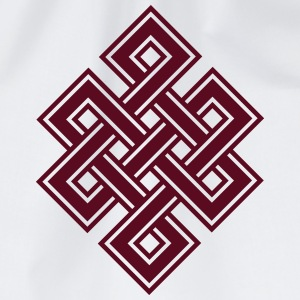 Tibetan endless knot, eternal, buddhism, celtic T-Shirts - Drawstring Bag