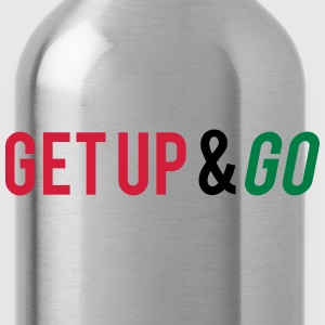 Get Up And Go Camisetas - Cantimplora