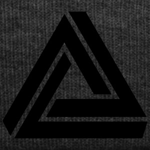 Penrose triangle, Impossible, illusion, Escher T-shirts - Winterhue