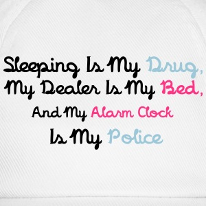 Sleeping Is My Drug T-shirts - Baseballcap